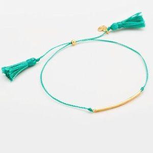 Gorjana Laguna Bar Bracelet in Turquoise